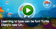 link to underwater typing game