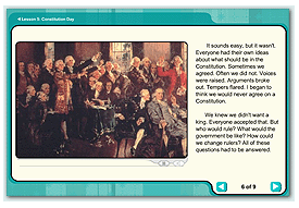 link to constitution day lesson