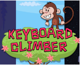 link to keyboard climber game
