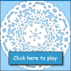 link to snowflake typing game