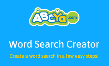 link to word search creator