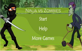 link to ninjas and zombies typing game