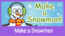 link to make a snowman game